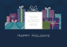 Satisfaction Guaranteed Holiday Logo Cards